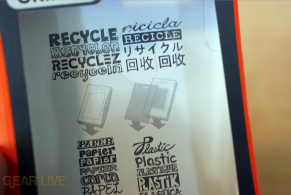 Griffin Reveal case box is fully recyclable
