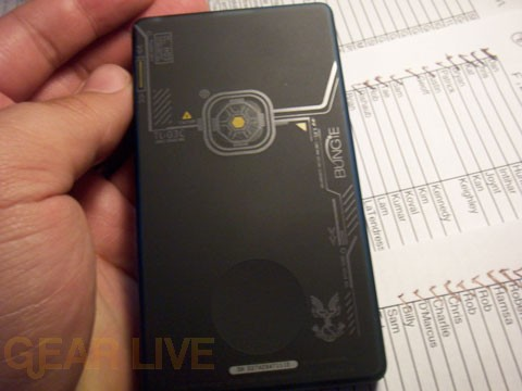 Full Shot of Back of Halo 3 Zune