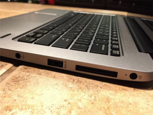 HP EliteBook Folio 1020: Aux ports, USB 3.0, dock