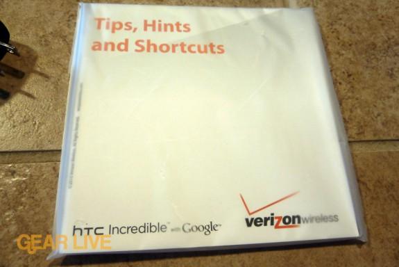 HTC Droid Incredible manual