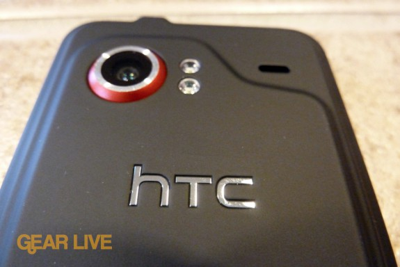 HTC Droid Incredible rear logo