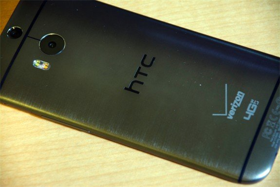 HTC One (M8) Smartphone rear