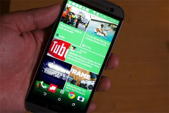 HTC One (M8) BlinkFeed