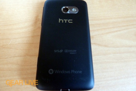 HTC Surround rear camera