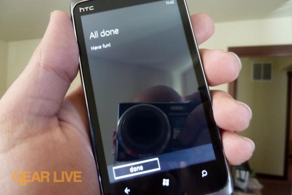 HTC Surround Setup complete