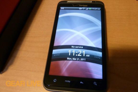HTC Thunderbolt lock screen