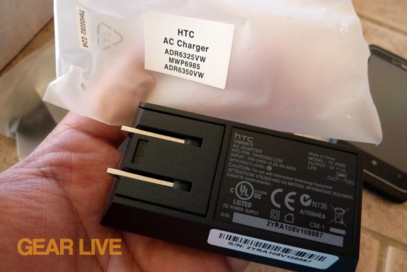 HTC Trophy AC adapter