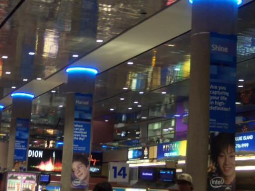 Intel Takes Over Vegas Airport At CES