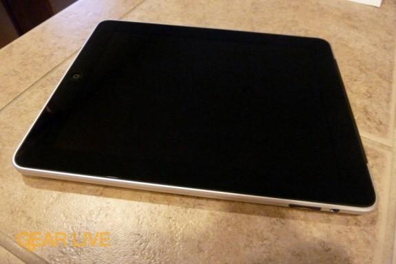 The iPad 3G powered off
