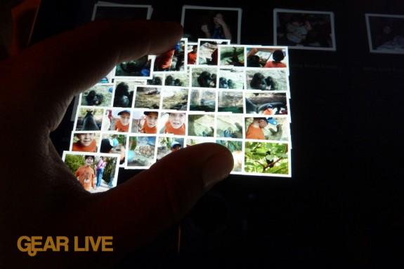 iPad apps: Photos gallery pinching