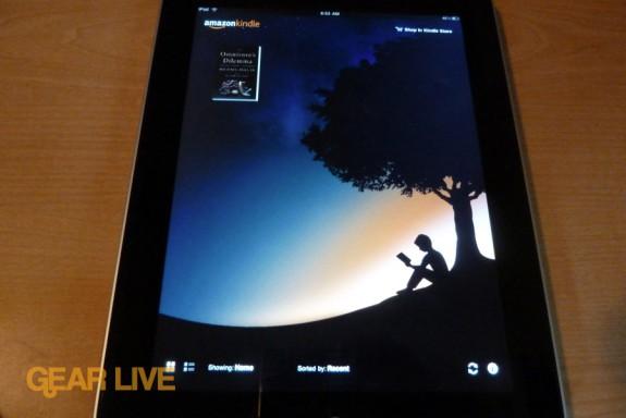 iPad apps: Kindle