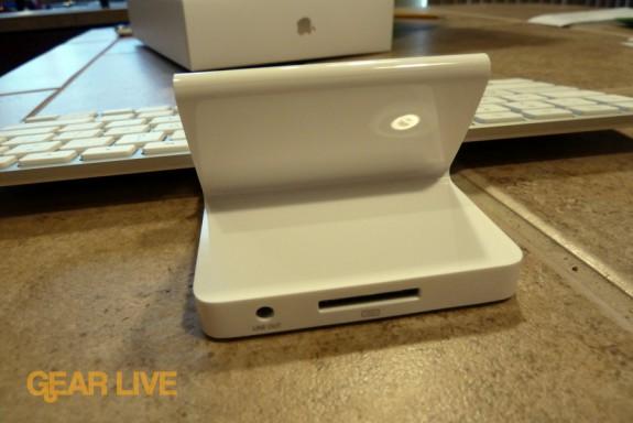 iPad Keyboard Dock connector and audio jack