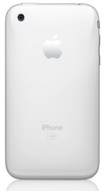 iPhone 3G: White back