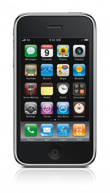 iPhone 3G S front