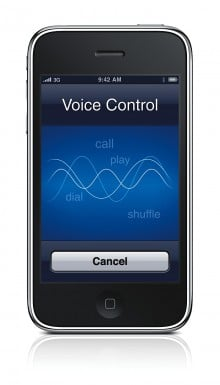 iPhone 3G S Voice Control