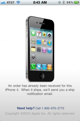 iPhone 4 Case Program already ordered