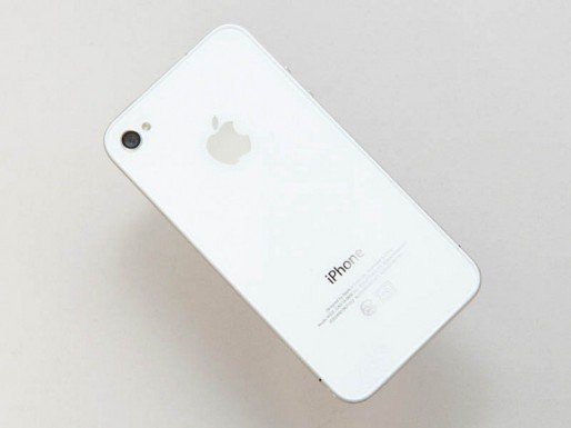 White iPhone 4 back