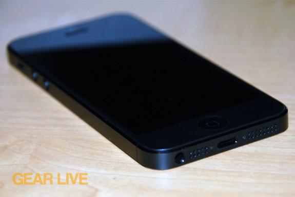 iPhone 5 black & slate bottom left