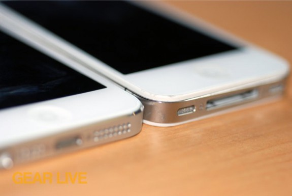 iPhone 5 and iPhone 4S Lightning and Dock Connector, speakers
