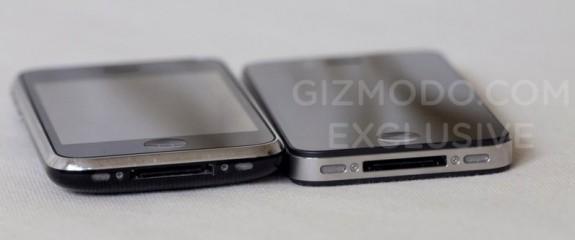 iPhone HD vs iPhone 3GS: Bottom