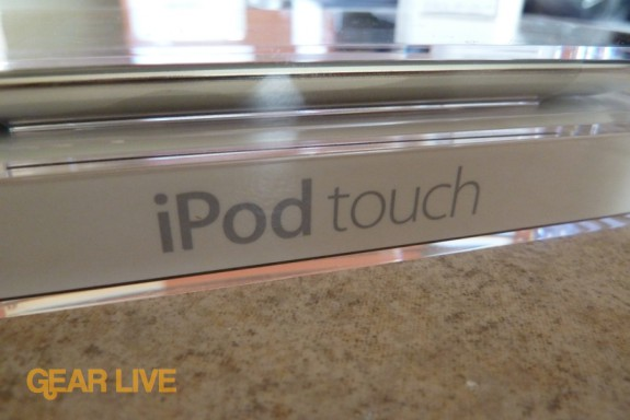 iPod touch logo on packaging