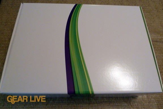 Kinect review unit box