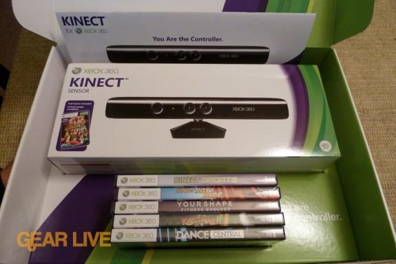 Kinect sensor and games