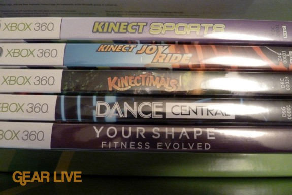 Kinect games for review