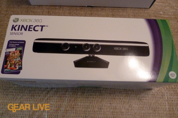 Kinect sensor box