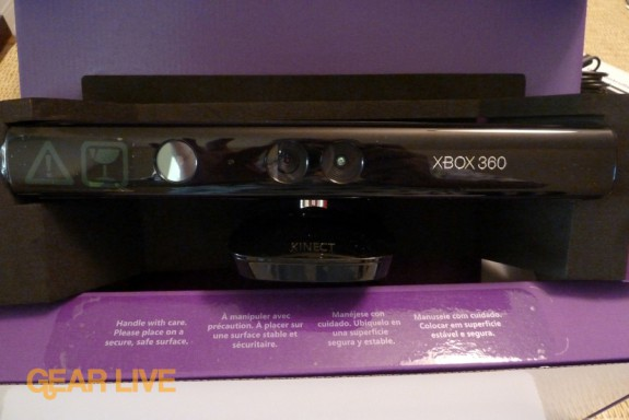 Kinect in box
