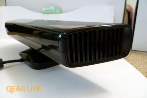 Side of Kinect sensor