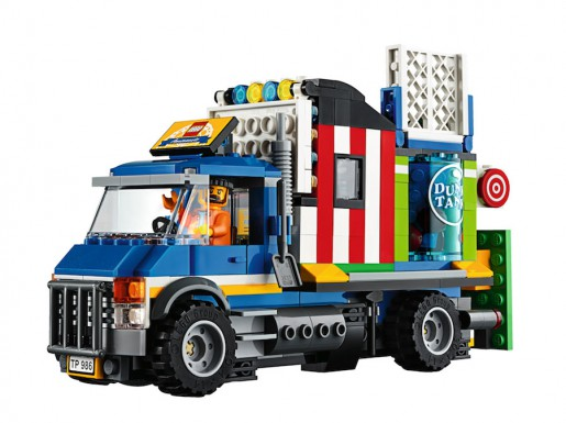 LEGO Fairground Mixer 10244 - Attraction Truck