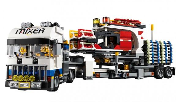 LEGO Fairground Mixer 10244 - Mixer Truck