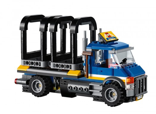 LEGO Fairground Mixer 10244 - Empty Attraction Truck