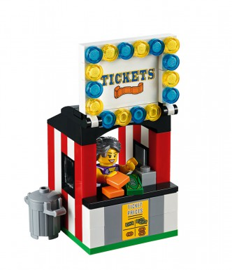 LEGO Fairground Mixer 10244 - Ticket Booth