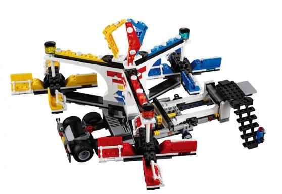 LEGO Fairground Mixer 10244 - Mixer Setup 3