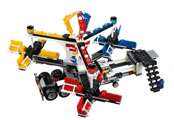 LEGO Fairground Mixer 10244 - Mixer Setup 5