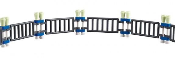 LEGO Fairground Mixer 10244 - Mixer Fence