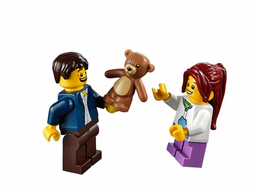 LEGO Fairground Mixer 10244 - Father and Daughter Minifigs