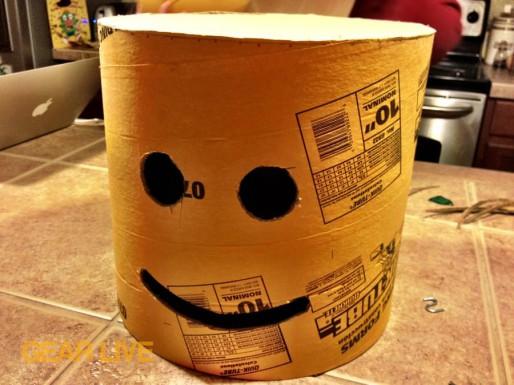 Head with face LEGO Superhero Halloween costumes