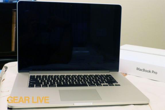 MacBook Pro with Retina display full