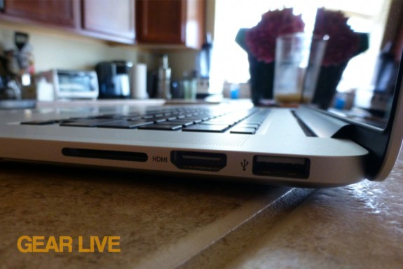 MacBook Pro with Retina display HDMI, SD, USB 3.0