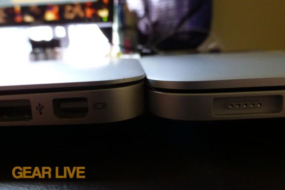 MacBook Pro with Retina display vs MacBook Air