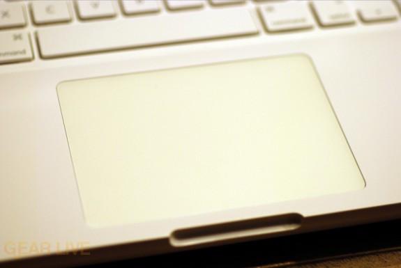 Unibody MacBook click pad