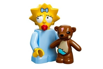 Maggie The Simpsons Minifig
