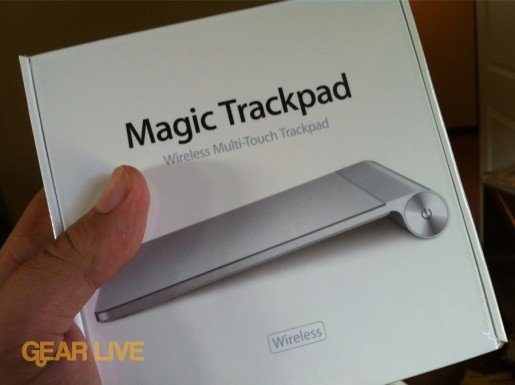 Magic Trackpad box
