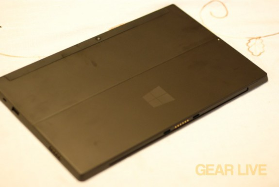 Microsoft Surface rear