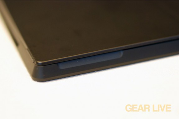 Microsoft Surface kickstand notch