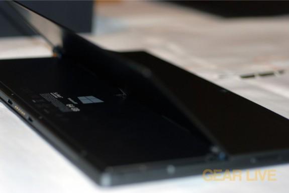 Microsoft Surface kickstand lifted