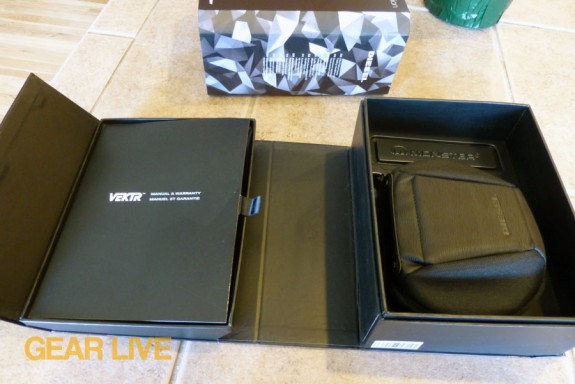 Monster Diesel VEKTR headphones box opened